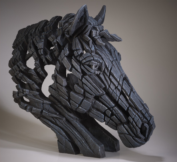Matt Buckley, Horse Bust (Black)