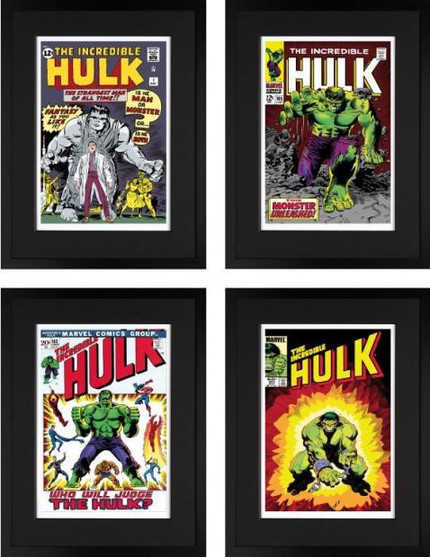 Marvel/ Stan Lee, The Incredible Hulk Portfolio (Giclee on Paper) , 2013
