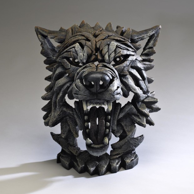 Matt Buckley, Wolf Bust - Timber