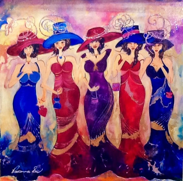 Rozanne Bell, Luscious Ladies, 2018