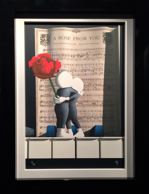 Mark Grieves, A Rose From You, 2018