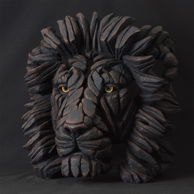 Matt Buckley, Lion Bust - Black , 2017