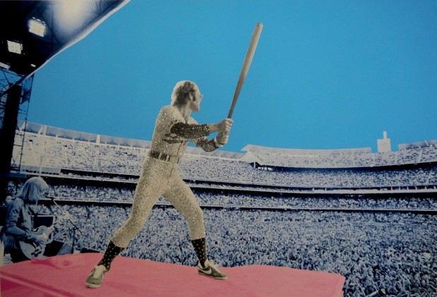 David Studwell, Elton John Home Run - Dodger Stadium 1975, 2019
