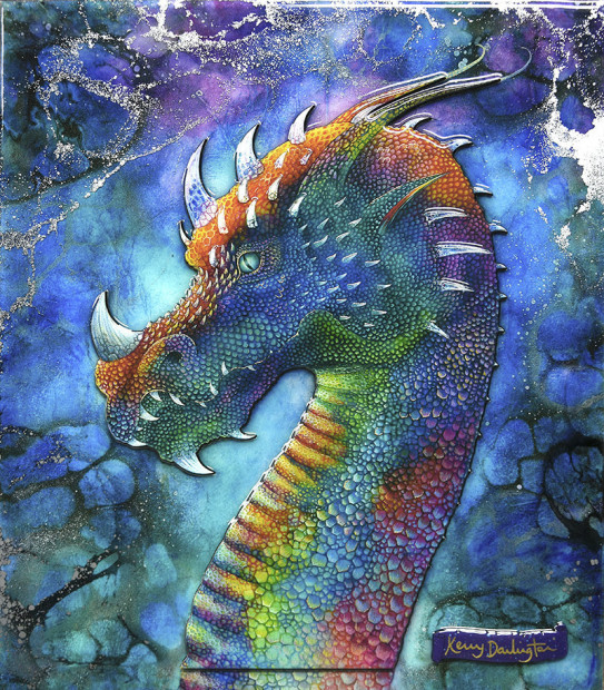 Kerry Darlington, Dragon of Hidden Treasures', 2019