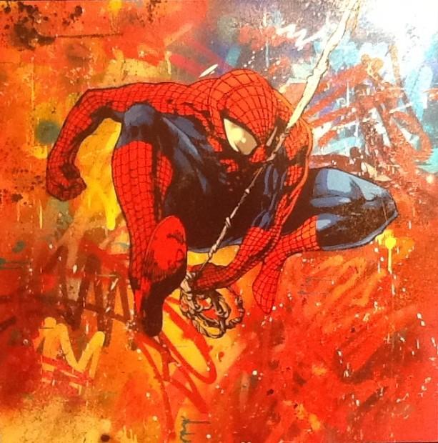 Lee Henderson, Spiderman, 2018