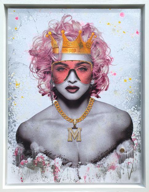 Dan Pearce, Queen of Pop - Pink, 2019