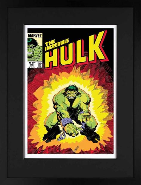 Marvel/ Stan Lee, The Incredible Hulk #307 - Giclee on Paper Edition , 2013