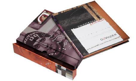 Govinder Nazran, Brimstone & Treacle Book Limited Edition Book
