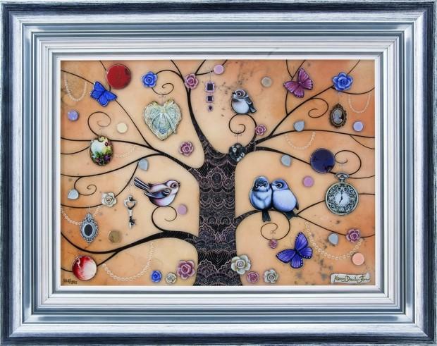 Kerry Darlington, XL Lace Tree, 2015