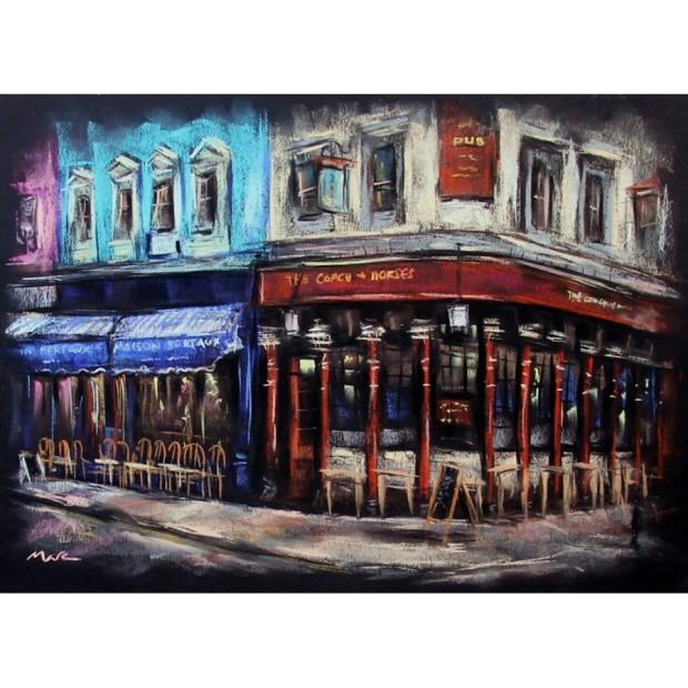 Marc Gooderham, Greek Street Soho