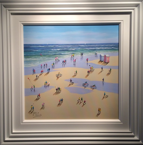 Paola Cassais, Beach Huts, 2019