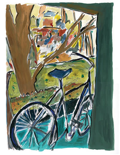 Bob Dylan, Bicycle, 2014