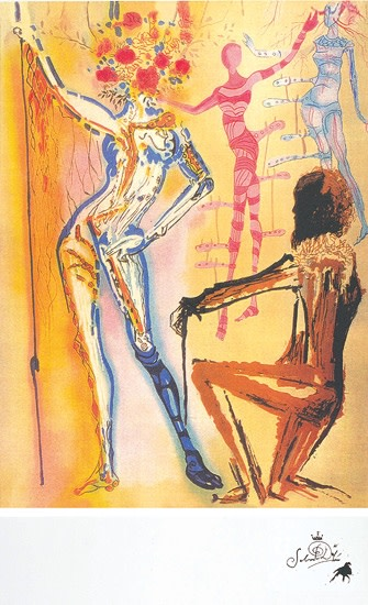 Salvador Dali, Homage To Fashion
