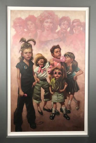 Craig Davison, Golden Years - In The Pink - Canvas, 2018