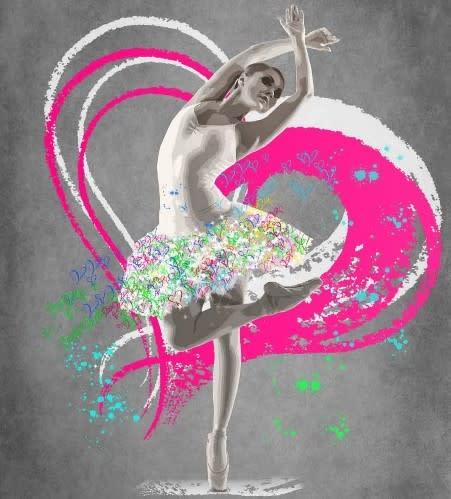 Chloe Rox, Ballerina - Original, 2019
