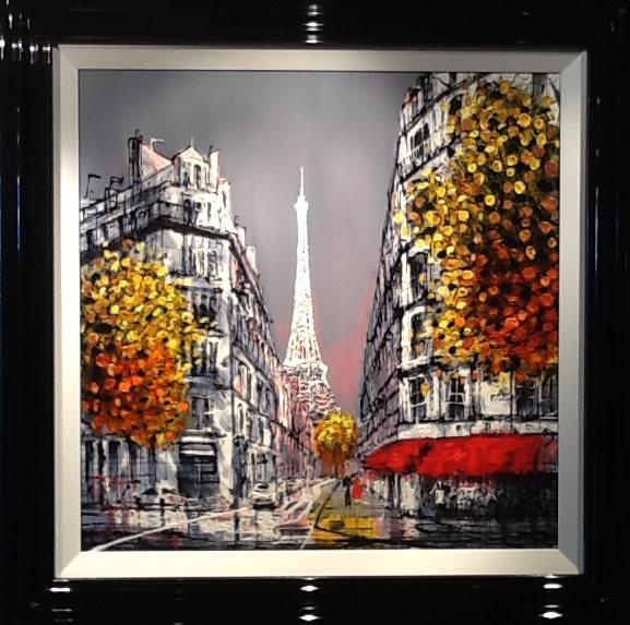 Nigel Cooke, Paris Sunset, 2018