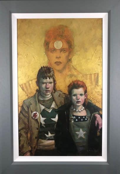 Craig Davison, Golden Years - Let The Children Boogie - Canvas, 2018