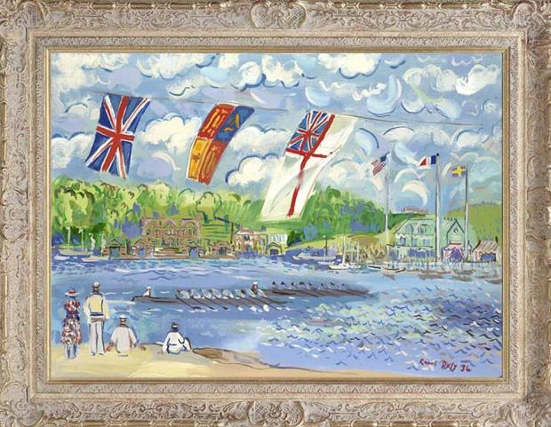 John Myatt, Regatta On The Thames , 2007