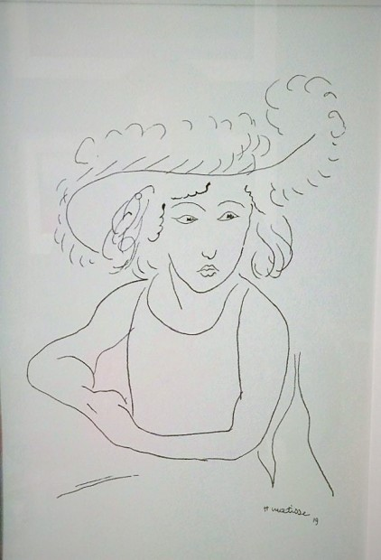 Peter Osborne, Matisse - Contour Drawing 1919, 2017