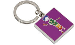 John D Wilson, Painting The Town Red - Keyring