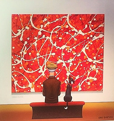 Chris Chapman, Puzzling Painting, 2017