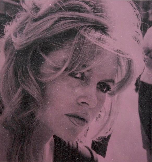 David Studwell, Brigitte Bardot - Blush Pink, 2018