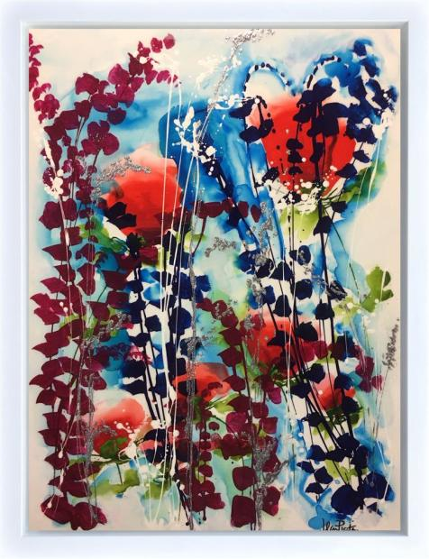 Jean Picton, Poppies And Blossoms, 2018