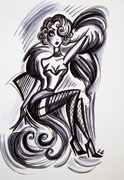 Laëtitia Guilbaud, Suspense In Suspenders , 2018