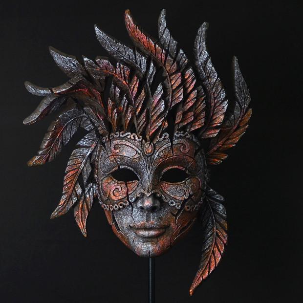 Matt Buckley, Venetian Carnival Mask - Iron Pink Mist, 2017