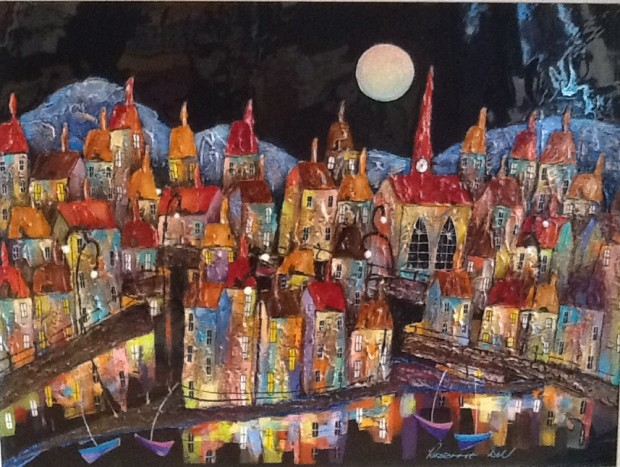 Rozanne Bell, Enchanted Evening, 2017