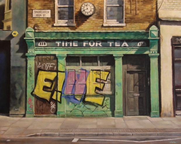 Marc Gooderham, Time For Tea - Print , 2017