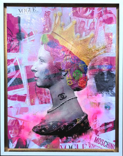 Dan Pearce, Queen of Fashion - Canvas , 2019