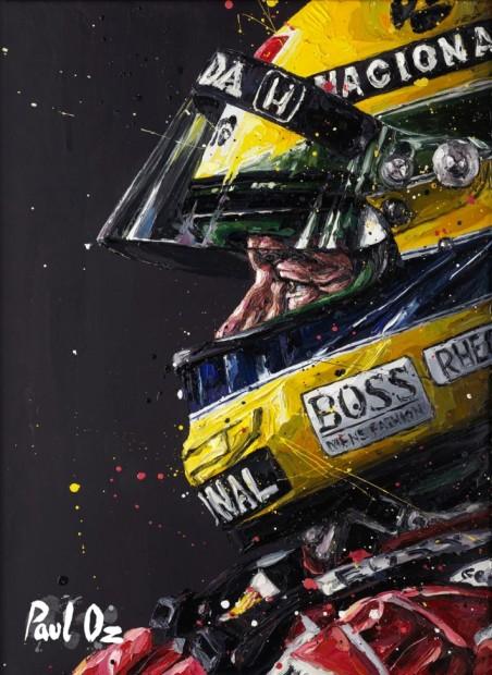 Paul Oz, Senna 14