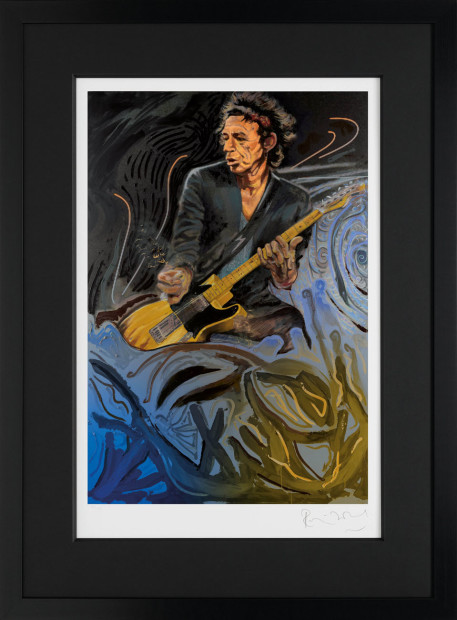Ronnie Wood, The Blue Smoke Suite - Keith, 2017