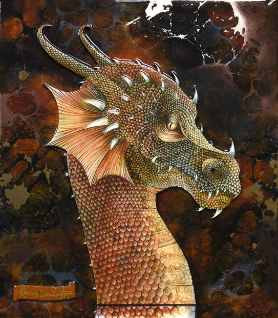 Kerry Darlington, 'Dragon of the Underworld, 2019