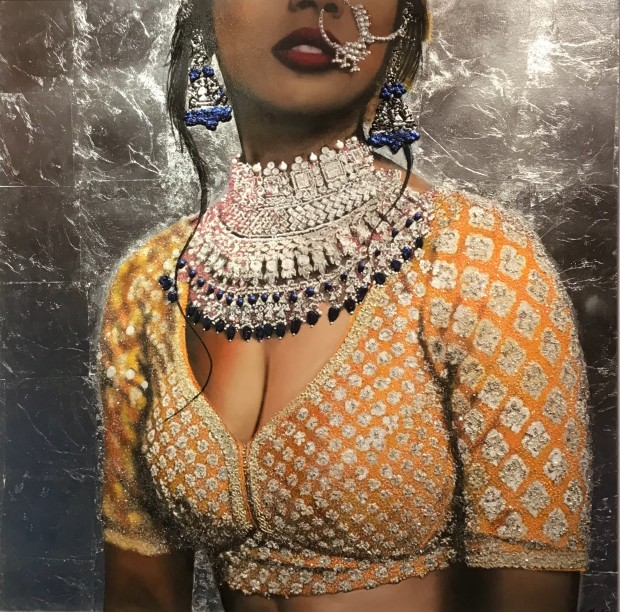 Linda Charles, Indian Couture I, 2019