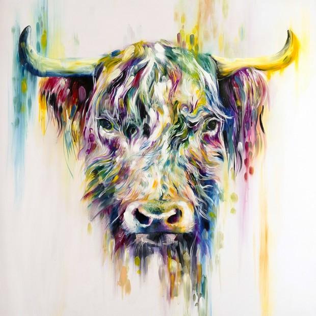 Katy Jade Dobson, Highland Cow, 2017