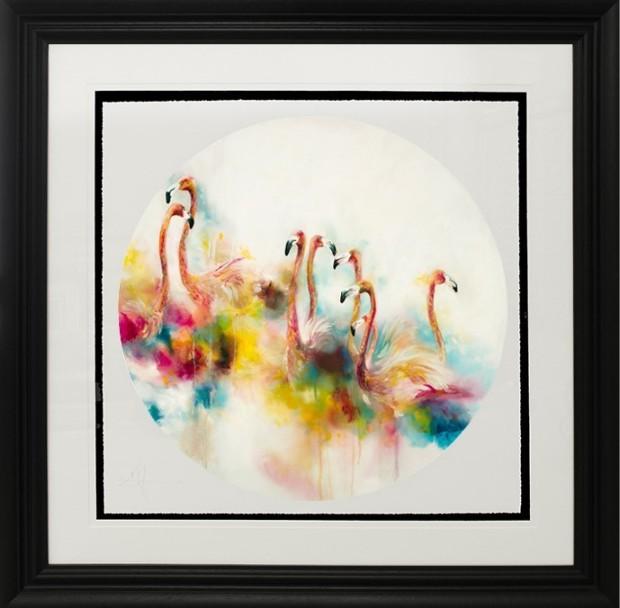 Katy Jade Dobson, Plumage (Flamingos) - Small, 2017