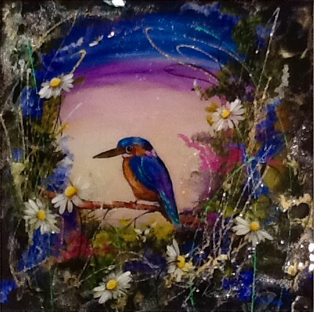 Rozanne Bell, Kingfisher, 2018