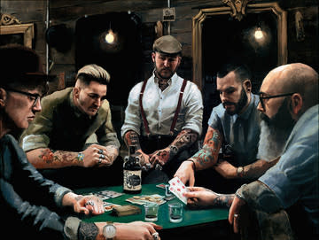 Vincent Kamp, The Gentleman and Rogues Club, 2017