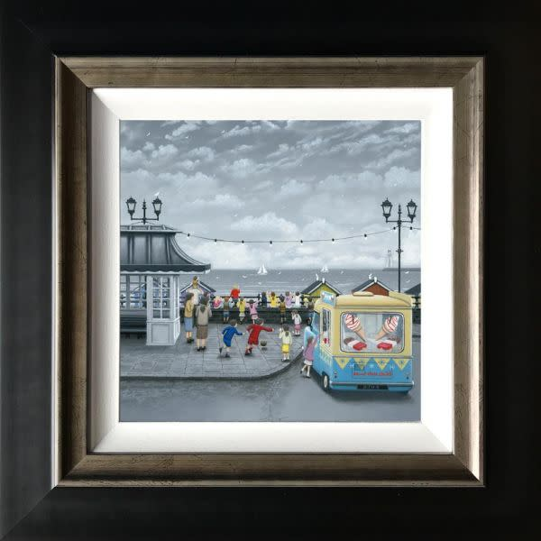 Leigh Lambert, 99's All Round - Canvas, 2018