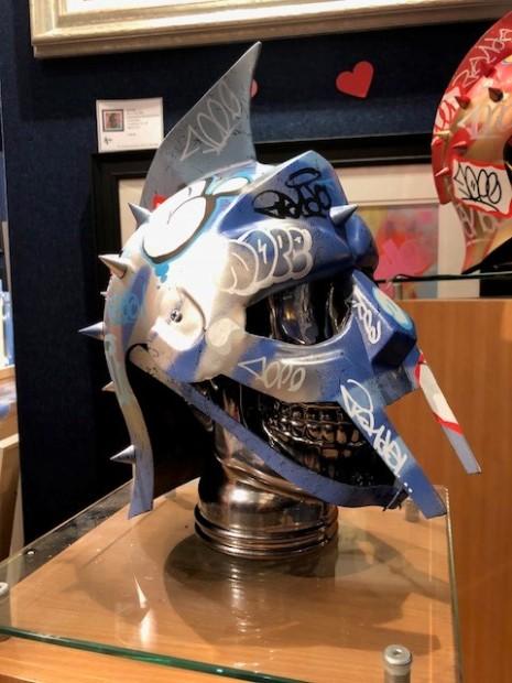 ZombieDan, Vandal Helmet - Blue/Silver, 2018
