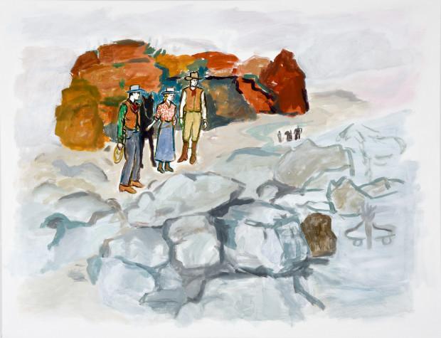Linda Blackburn, Three Rivers, 2018