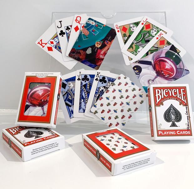 The Nancy Lamb Shop, Nancy Lamb Bicycle Playing Cards