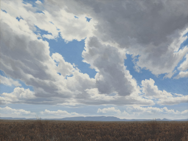 Dennis Blagg, Breaking Clouds, 2015