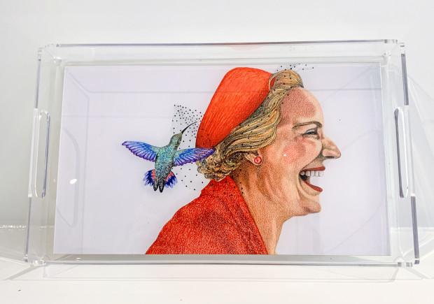 The Nancy Lamb Shop, Small Acrylic Tray | Lady Bird