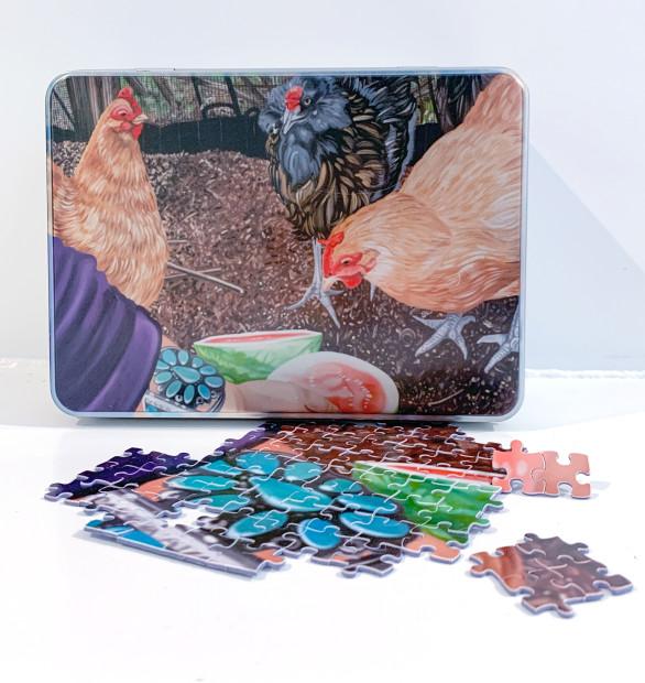 The Nancy Lamb Shop, Puzzle | Chicken Dance