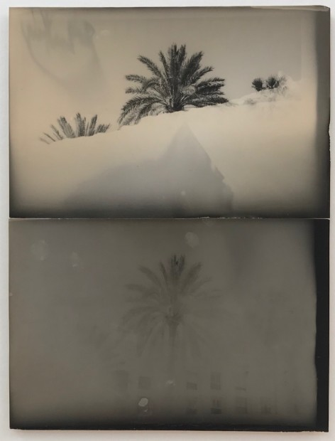 Bruno V. Roels The Shade of It All, 2019 Composition of two silver gelatin prints 40 x 30 cm 15 3/4 x 11 3/4 in