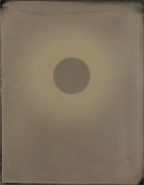 Ben Cauchi Untitled (25), 2018 Burnished photogram 56 x 47 cm 22 1/8 x 18 1/2 in