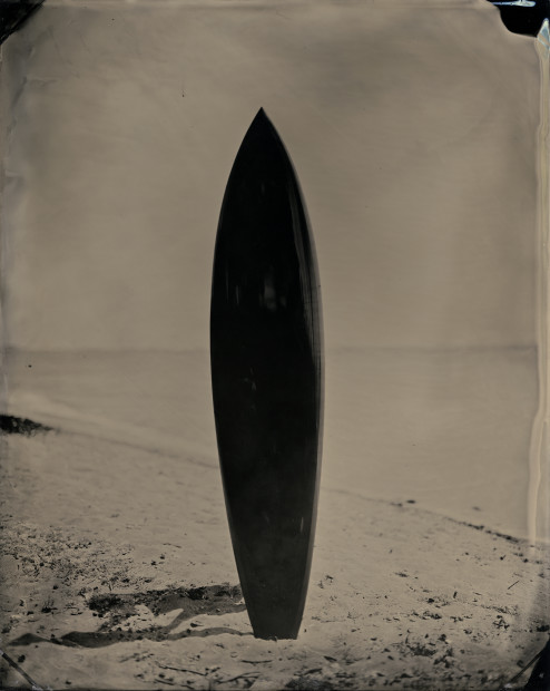Joni Sternbach 18.09.18 #1, 2018 Signed in pen on print verso Tintype 20.3 x 25.4 cm 8 x 10 in